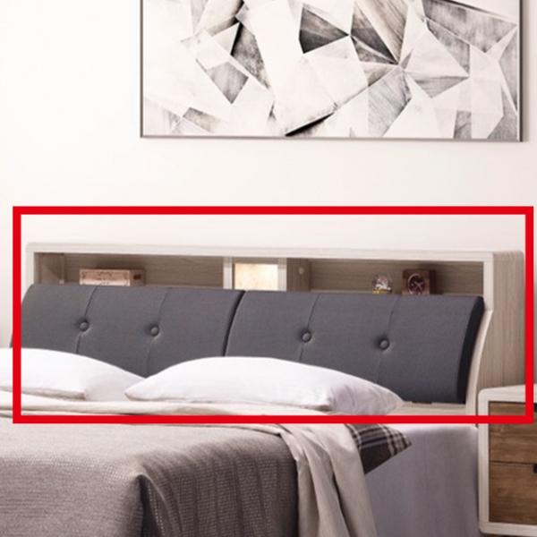 北歐時尚6尺小夜燈床頭箱 1