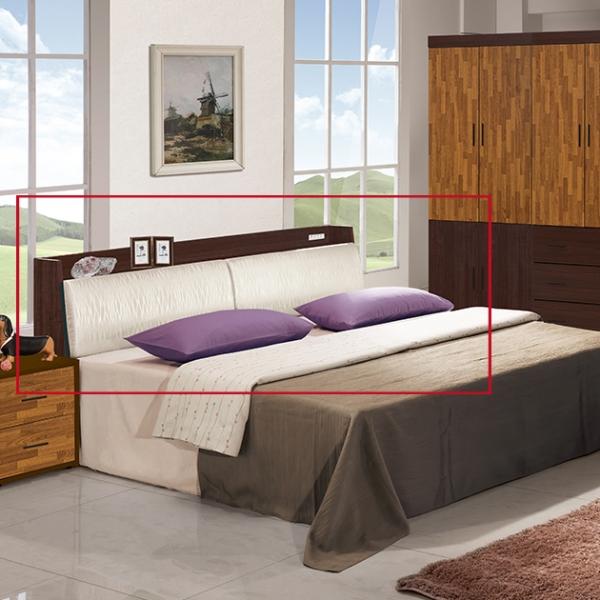 集成材房間組-六尺床頭 1