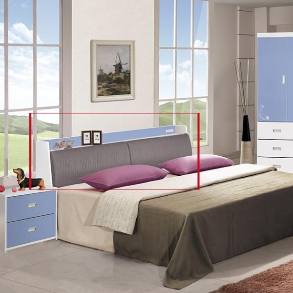 藍天使房間組-5尺床頭 1