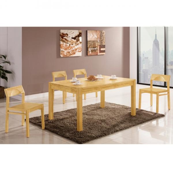 捷克餐桌松木色-不含椅 1