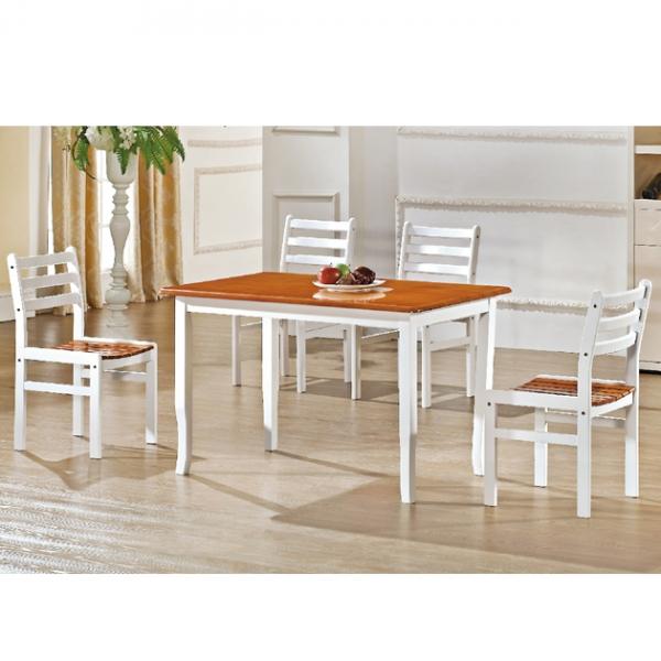 T030實木餐桌-不含椅 1