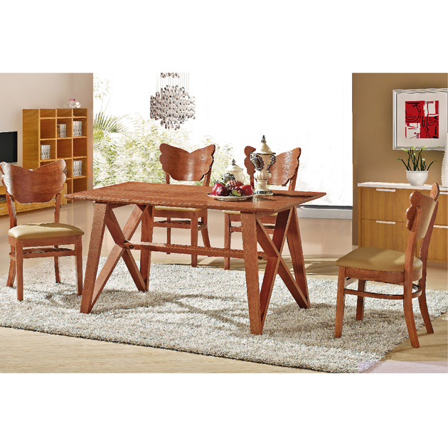 T114實木餐桌-不含椅 1