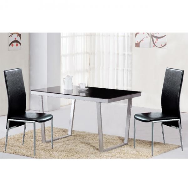 喬治亞餐桌(銀)-不含椅 1