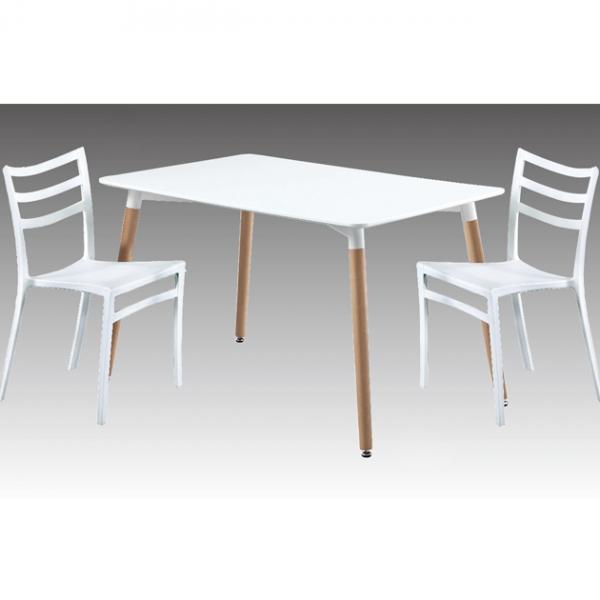 Z-207板面餐桌(白)-不含椅 1