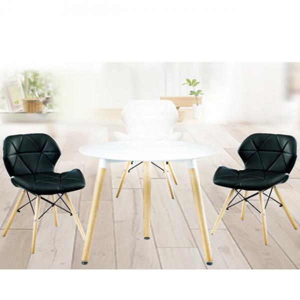 Z-210板面餐桌(白)-不含椅 1