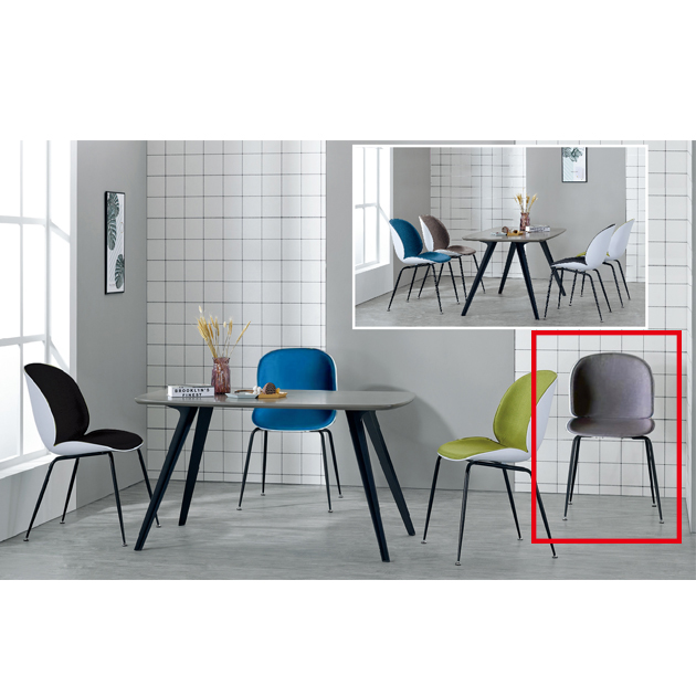 1690餐椅半包(4色) 2