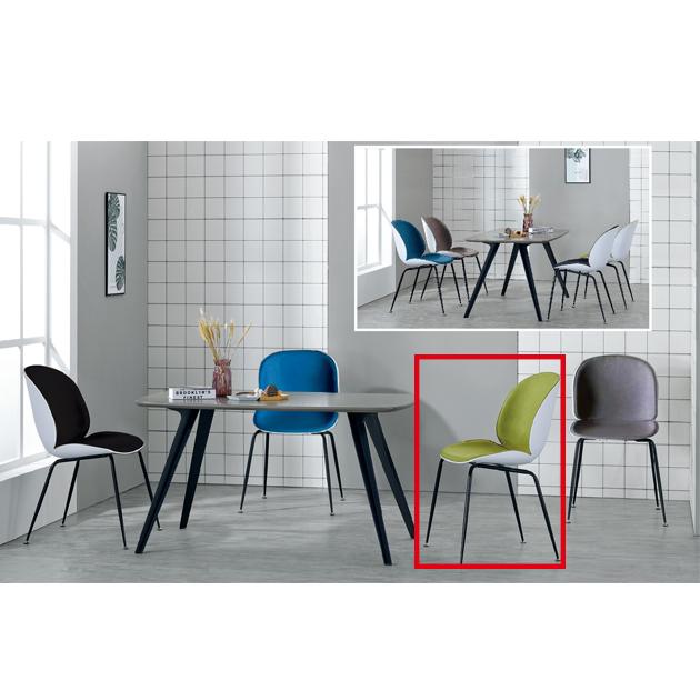 1690餐椅半包(4色) 3