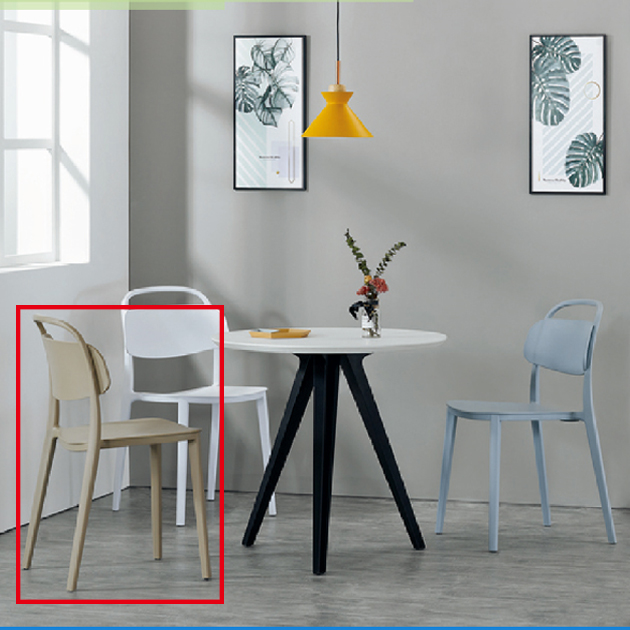 1755餐椅(三色) 3