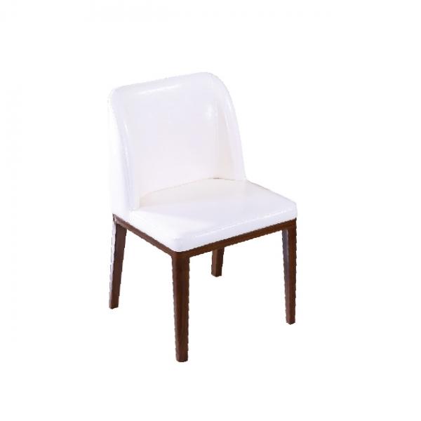 115餐椅(白色皮) 1