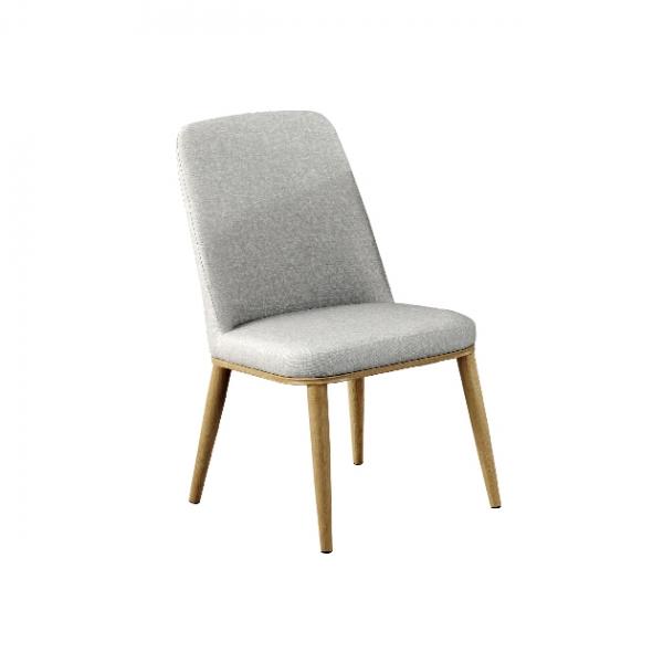 193餐椅(灰色皮) 1