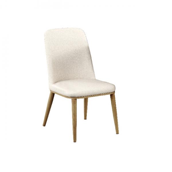 193餐椅(米色皮) 1