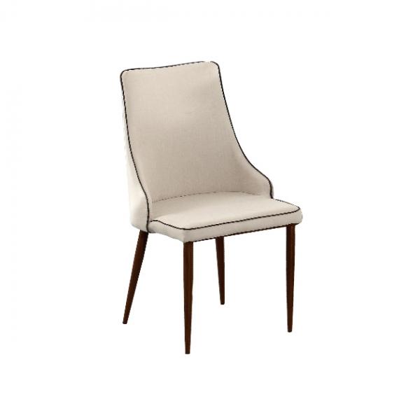 B93餐椅(米色麻布) 1