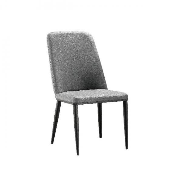 B108餐椅(灰色麻布) 1