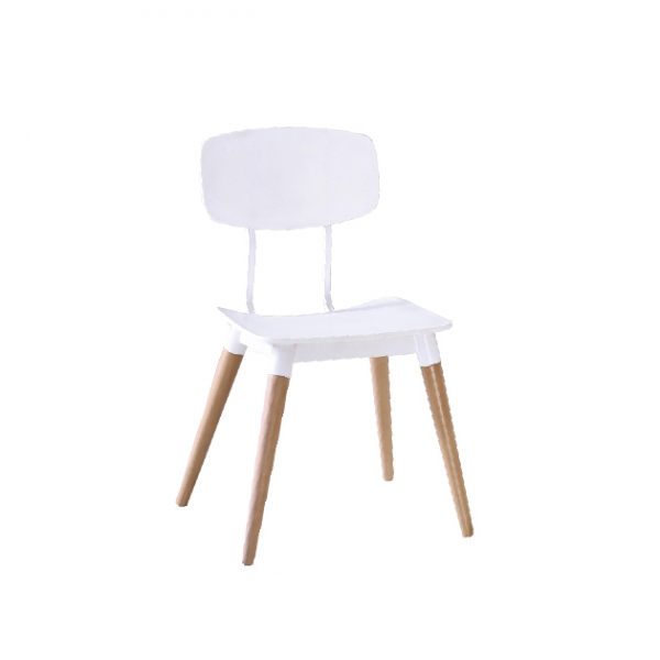 8085餐椅(白色) 1