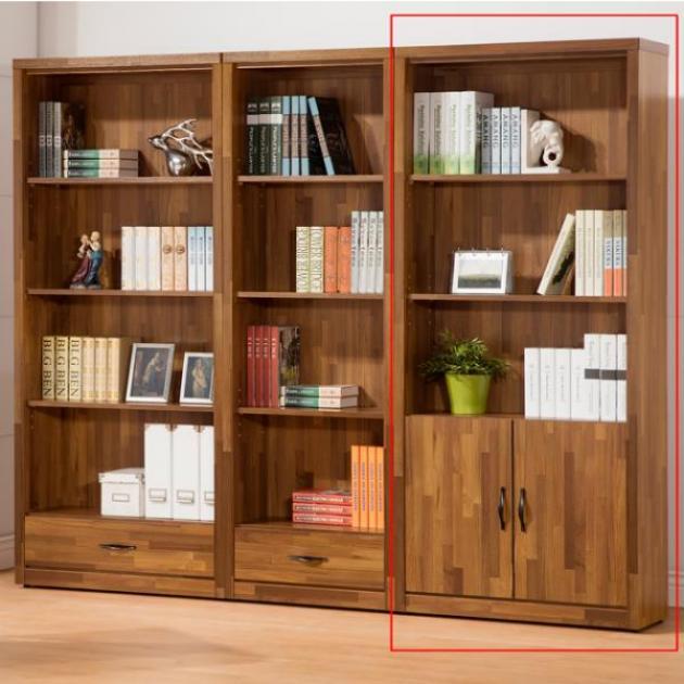 積層木3*6尺下門書櫃 1
